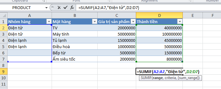 ham-tinh-sumif-trong-excel